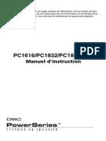 PC1616-PC1832-PC1864 manuel instruction