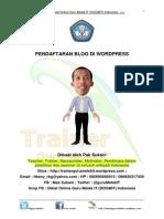 2. Pendaftaran Blog Di Wordpress by Pak Sukani