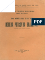 Roso de Luna, Mario - H.P. Blavatsky., Una Mártir Del Siglo XIX