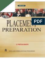 Placement Preparation S. Parthasarathy