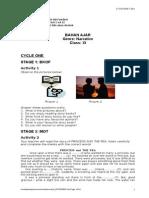 Banyak Teks_LKS _ RPP_ Bhn Ajar_Narrative XI