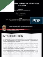 Proyecto Para Examen de Oposición a Catedra
