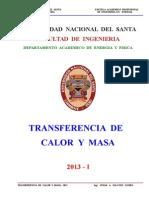 Transf. Calor y Masa - Sesión N° 3 - II - Unidad - 2013