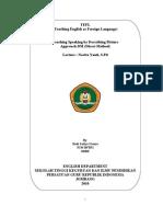 Paper of TEFL
