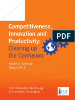2013 Competitiveness Innovation Productivity Clearing Up