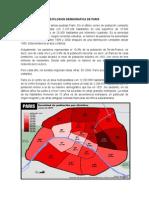 Explosion Demografica de Paris