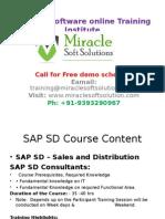 SAP Online Tutorial |Online IT Training Courses| SAP SD Online training