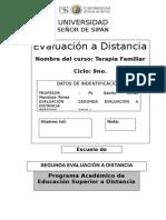 Segundo Examen a Distancia 2015