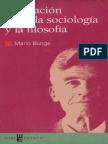 Bunge Mario - La Relacion Entre La Sociologia y La Filosofia