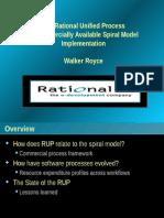 Spiral Model Implementation in RUP