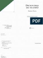 Patrice Pavis - Dicionário de Teatro