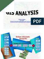 GIS spatial analysis presentation - Romanian