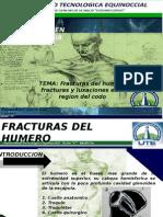 Traumatologia, Fx de Huemro y Codo