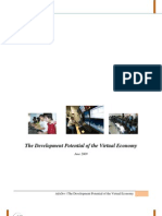 Development Potential of the Virtual Economy