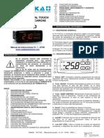 Manual de Usuario TS F100