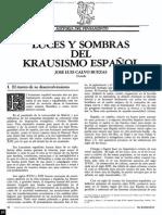 El Krausismo en la literatura española