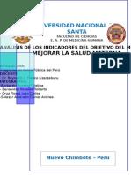 Análisis de Los Indicadores Del Objetivo Del Milenio 5completo
