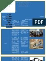 Importancia de las computadoras en otras áreas o profesiones