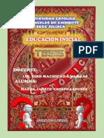 perfil de tesis educativo