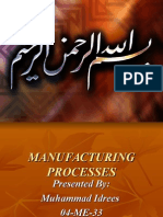 (04 ME 33) Manufacturing Processes