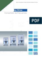 WEG Cfw10 Easy Drive 50051582 Catalogo Espanol