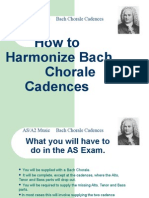 How to Harmonize Bach Chorale Cadences