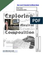 Unit 5 Exploring Composition Student Booklettes