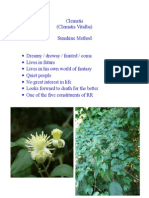 Clematis and Rescue remedy