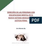 Informe Sistema Acusatorio y Personas Con Discapacidad Mental JUNIO 2013 Final