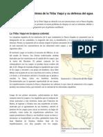 Introducción Al Problema Yaqui y Su Defensa Del Agua