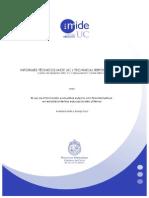 El Uso de Información Evaluativa Externa en Establecimientos Educativos Chilenos