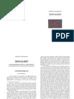 Tentación (D. Bonhoeffer, Versión WF 2.2, Hoja A4)
