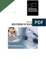 Proposal Distribusi Barang