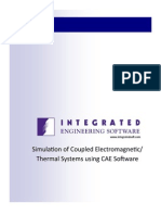 IES - Simulation of Coupled Electromagnetic-Thermal Systems Using CAE Software