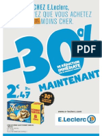 Catalogue LECLERC hypermarchés FRANCE du 10/06 au 20/06/2015 - Magasin Paris