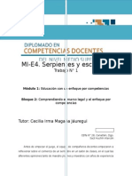 SERPIENTES Y ESCALERAS PROFORDEMS 2015
