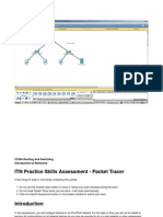 ITN Practice Skills Assessment - Packet Tracer Ejercicio