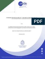 La Validez de La Evaluacion Docente en Chile Usando Como Criterio Estimaciones de Valor Agregado de Profesores de Enseñanza Media