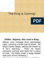The King is Coming Play