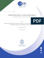 Modelos de Evaluación Docente e Instrumentos Para Evaluar