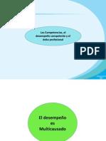 Tema 3 - Las Competencias, El Desempeño Competente y El Éxito Profesional