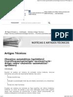 ABNT - Chuveiros Automáticos _(Sprinklers_)