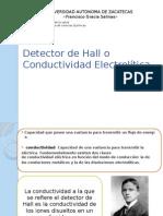 Detector de Hall de Conductividad Electrolítica Análisis Instrumental