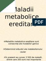 Maladii metabolice