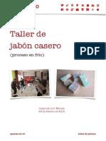 Taller de Jabón Casero (Proceso en Frío)_Ateneo de Valencia