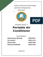 Portable Air Conditioner report