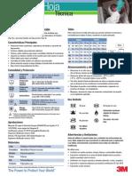 3m Tm 4565 Prenda de Protección Technical Datasheets (1)