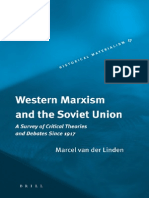 31601472 Van Der Linden Marcel Western Marxism and the Soviet Union a Survey of Critical Theories and Debates Since 1917