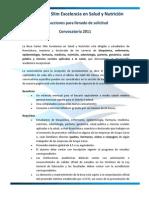 MACHOTE Convocatoria Becas Carlos Slim Excelencia en Salud y Nutrición 2011