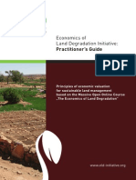 Economics of land degradation